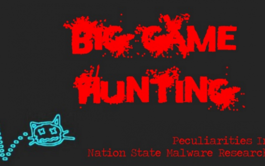 Nation State Malware Research