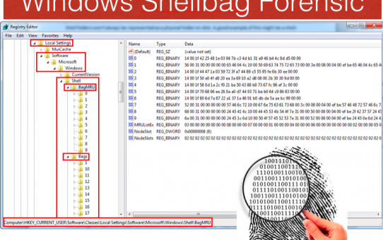 windows shellbag forensic