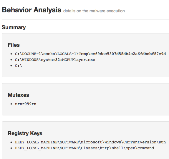 from http://volatility-labs.blogspot.co.id/ contoh hasil analisa malware cuckoo