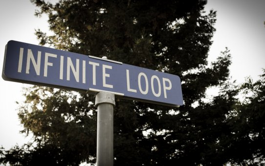 Infinite loop by Franco Folini Flickr